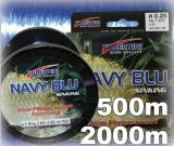 Tubertini Schnur Navy Blue sinkend 500m Spule